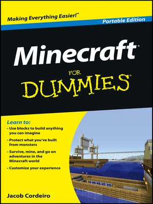 cover image of Minecraft For Dummies